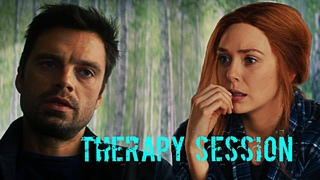 Bucky and Wanda therapy session| Winter Soldier and Scarlett Witch | TFATWS and WandaVision | Humour