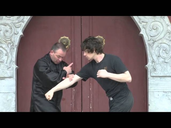 Dim Mak application using 8 Immortals Drunken Boxing with Sifu Steven Burton