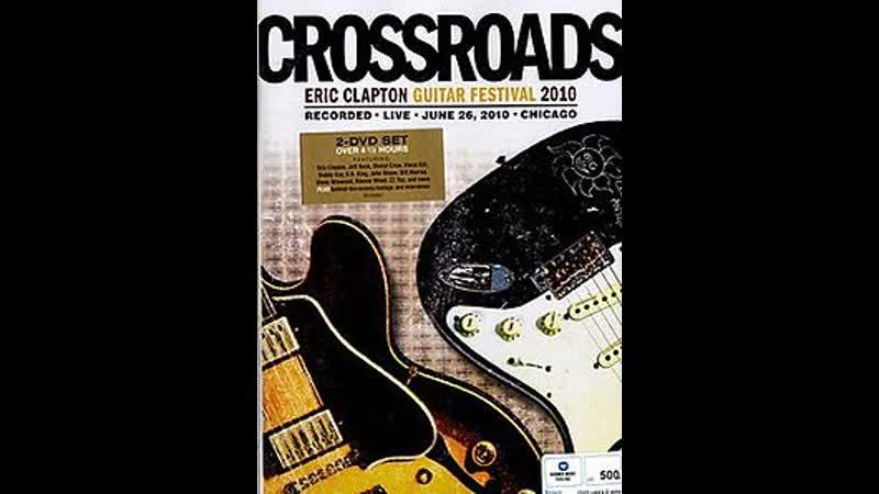 Vince Gill with James Burton, Albert Lee, Keb' Mo', Earl Klugh - Mystery Train (Crossroads Guitar Festival 2010)