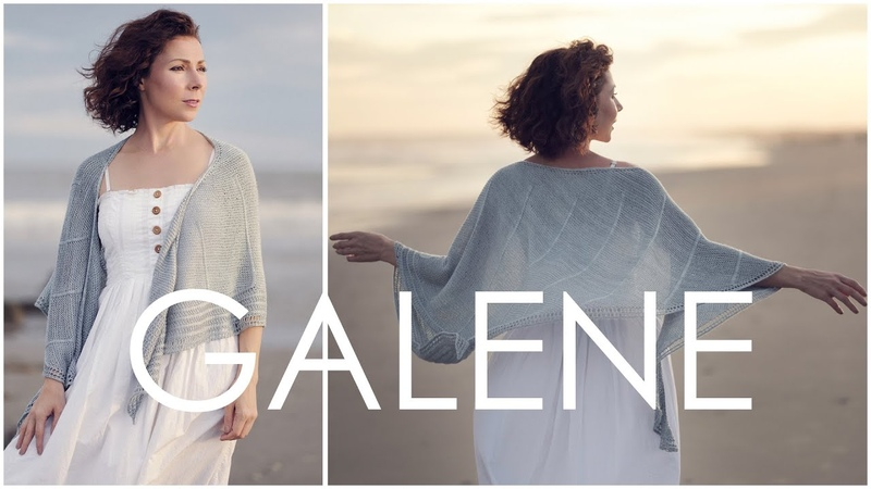 Gorgeous Galene Knit Shawl - How to Do a Wrap and Turn in Garter Stitch