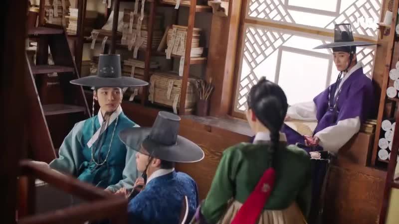 """김민재 Gong Seung yeon 사랑의 기운을 눈치챈 변우석 Byeon Woo Seok """"수상해 """" 꽃파당 Flowercrew 12회"""