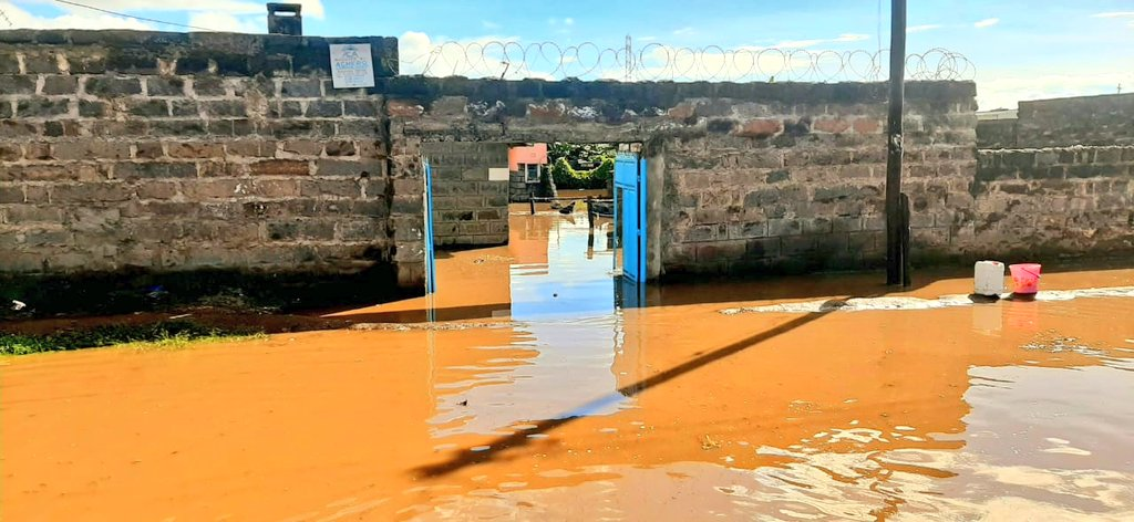 Наводнения и оползни в Кении, май 2020