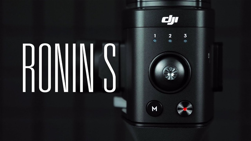 РАСПАКОВКА DJI RONIN-S | LUMIX GH5