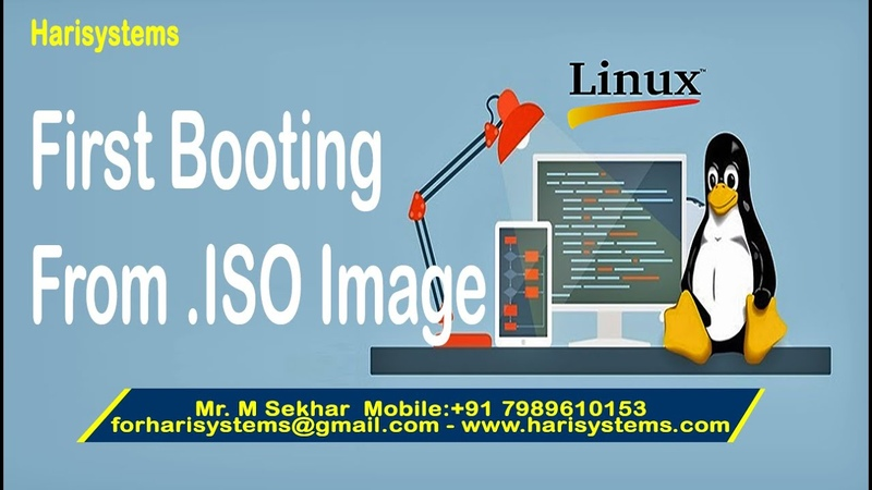 Linux tutorial for experienced Linux how to boot from iso Linux booting from drive harisystems