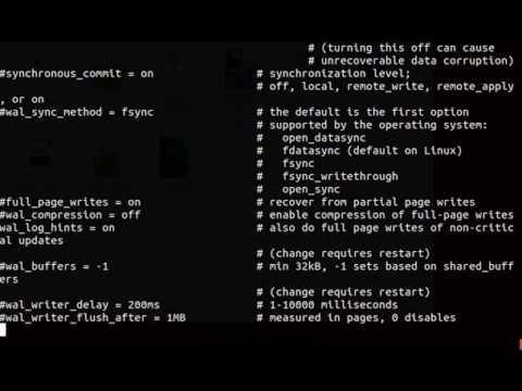 PostgreSQL репликация