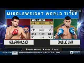 Gegard Mousasi vs Douglas Lima Full Title Fight 29 October 2020