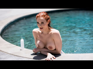 Maitland Ward - Wet And Wild |  All Sex Big Tits Oil Redhead Doggystyle Reverse Cowgirl Facial Brazzers Porn Порно