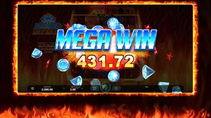 Лучшие слоты Microgaming | Diamond Inferno Online Slot Promo
