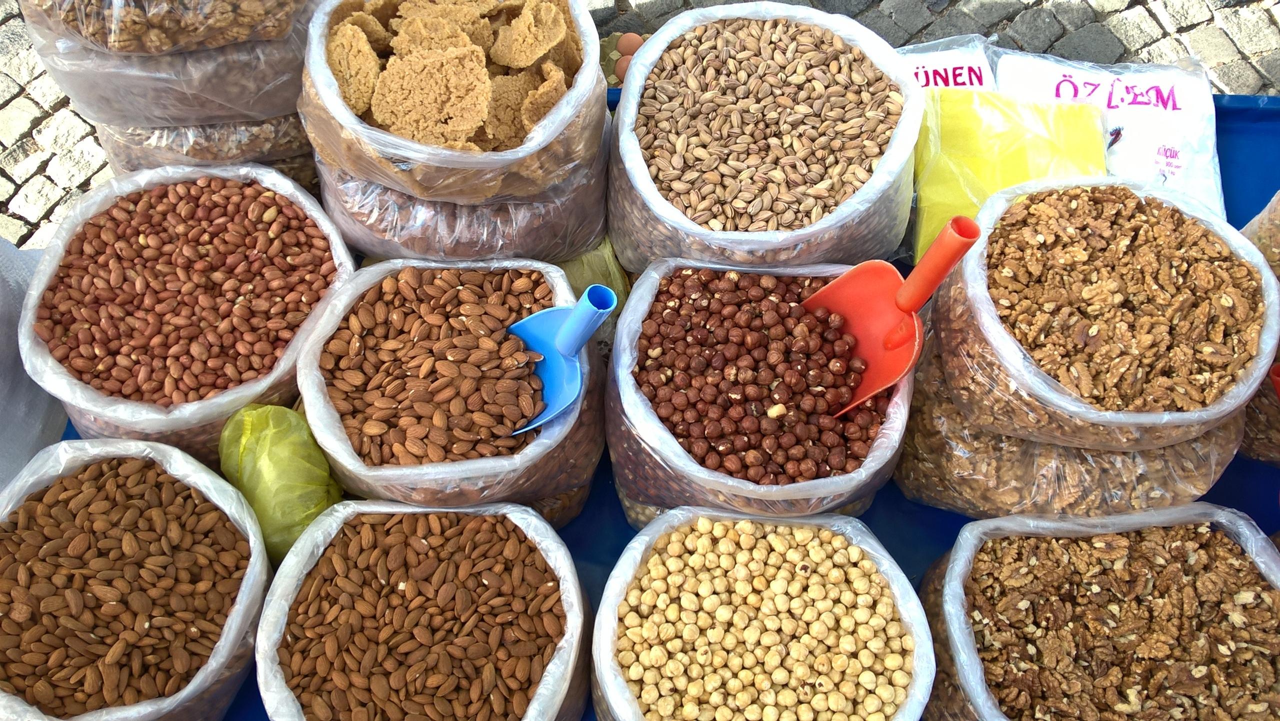 Орехи для сыроедения