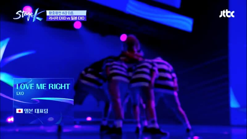 Team of Japan LOVE ME RIGHT EXO Cover SHOW Stage K 23 06 2019