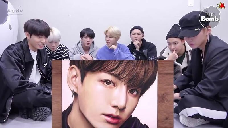 Cảm xúc của người hàn khi xem VẼ CHÂN DUNG BÉ THỎ JUNGKOOK Drawing BTS Jungkook