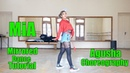 Bad Bunny feat. Drake - Mia   Mirrored Dance Tutorial   Agusha Choreography   Fam Entertainment