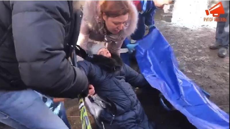 ⚡️Строители на Мичуринском 30Б в Москве покалечили депутатов Мосгордумы и пожилых людей