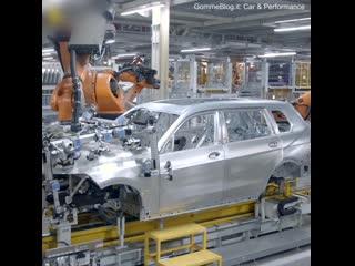 Производственная линия BMW X7