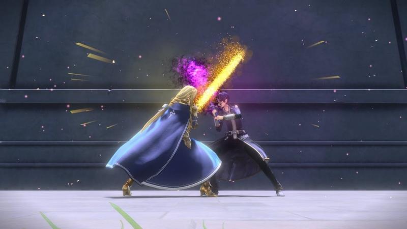 Kirito Eugeo vs Alice Synthesis 30 Sword Art Online Alicization Lycoris Gamerturk SAO