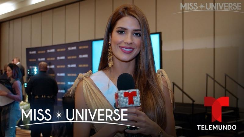 Miss Colombia 2019 revela con quién quiere llegar a la final Miss Universo 2019 Telemundo