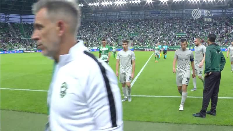 Right pointing triangle Ferencvaros FTC PFC LUDOGORETS or 2019 07 10 or teljes meccs 720p