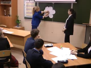 """Открытый урок в 8 классе по теме """"Is there a place for children in science"""""""