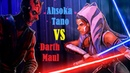 Star Wars Ahsoka vs Maul The Clone Wars Season 7
