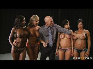 Kendra Lust  Miss Titness America, Lesbian, Lesbo, Hardcore, Blowjob, MILF, Facial, Anal, Gape