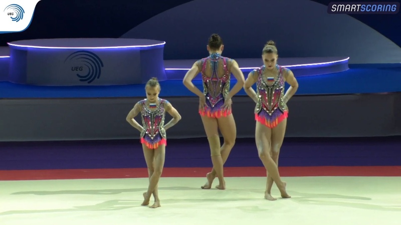 Womens group Russia - 2019 Acro Europeans, all-around final