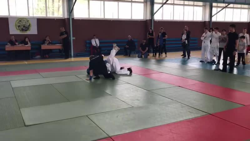 Полуфинал по рукапашному бою на 48 Кг Садык