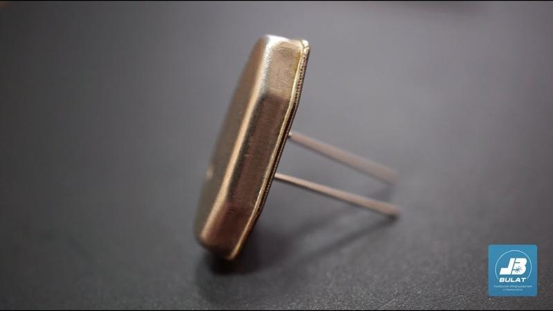 Лазерная сварка корпуса кварцевого резонатора [OKB BULAT]