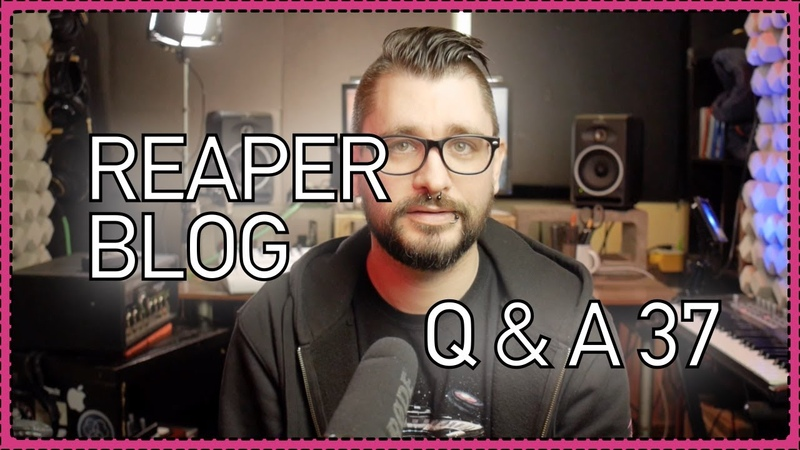 REAPER Blog Q A 37 produce like Carpenter Brut Fast Edit mode combining mics