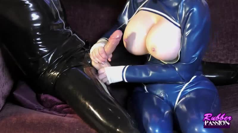 Latex Lucy Rubber Passion prod: Lucy Commands (2019) Handjob, Torture, Blowjob, Cum on tits, Big dick, Balls