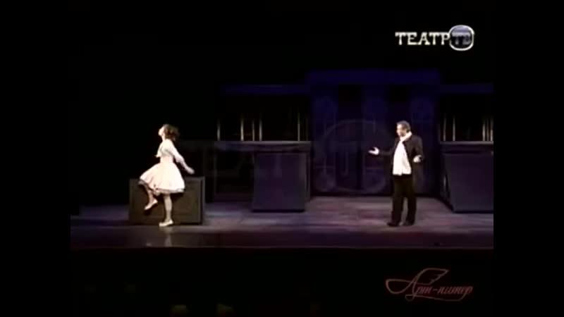 Сергей Безруков музыка Владимира Баскина Сирано де Бержерак весь спектакль