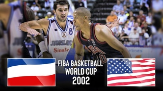 Yugoslavia v USA - Classic Full Games   FIBA Basketball World Cup 2002