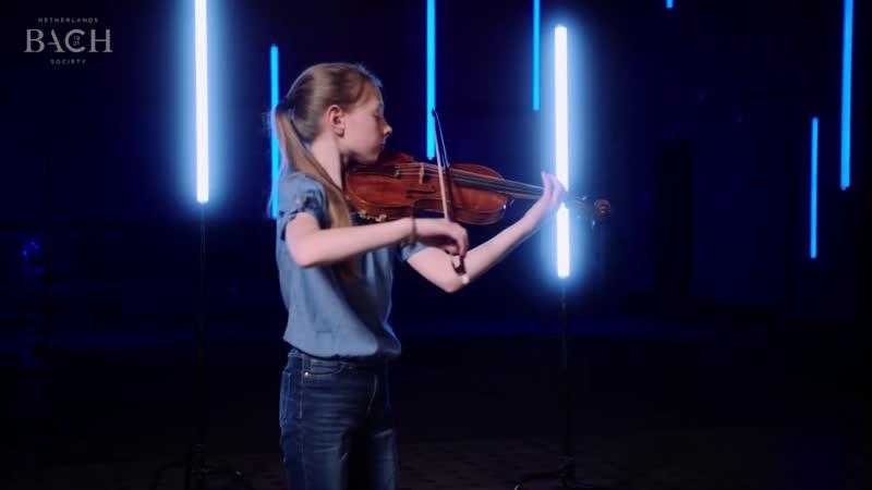 1004 (1) J. S. Bach - Violin partita in D minor BWV 1004 / 1. Allemande - Zohra Jongerius [AoB]