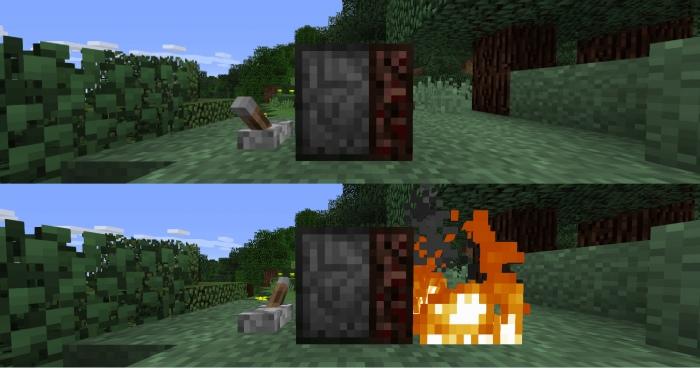 Мод на огненную печь ловушку