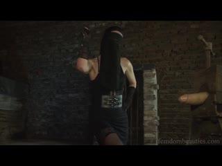 Lady Aisha Arabian Goddess Torturing Your Hard Slave Dick