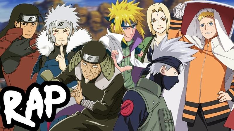HOKAGE RAP CYPHER | RUSTAGE ft None Like Joshua, GameboyJones More [Naruto Rap]