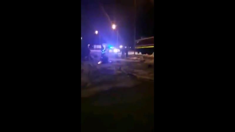 Жесткая авария на 6 км Велижанского тракта Тюмень
