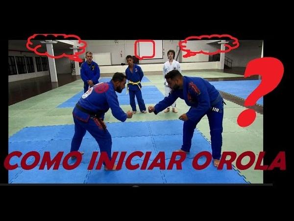 Como Lutar Jiu jitsu Aula Prática Feu Bjj