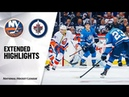 New York Islanders vs Winnipeg Jets Oct 17 2019 Game Highlights NHL 2019 20 Обзор матча