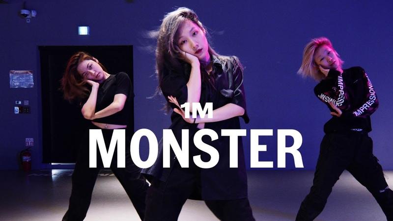 Red Velvet IRENE SEULGI Monster Woonha Choreography