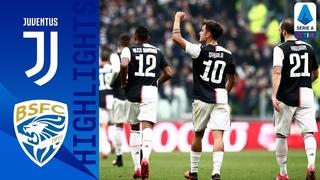 Juventus 2-0 Brescia | Dybala and Cuadrado Score to Beat 10-Man Brescia | Serie A TIM