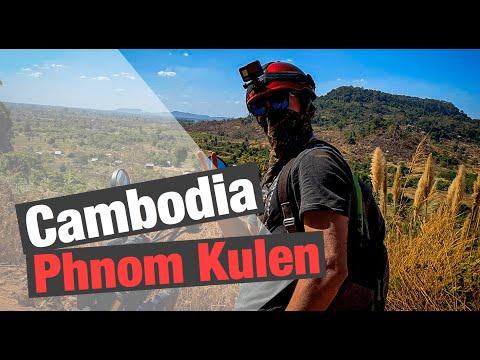 Cambodia Siem Reap The road to Phnom Kulen