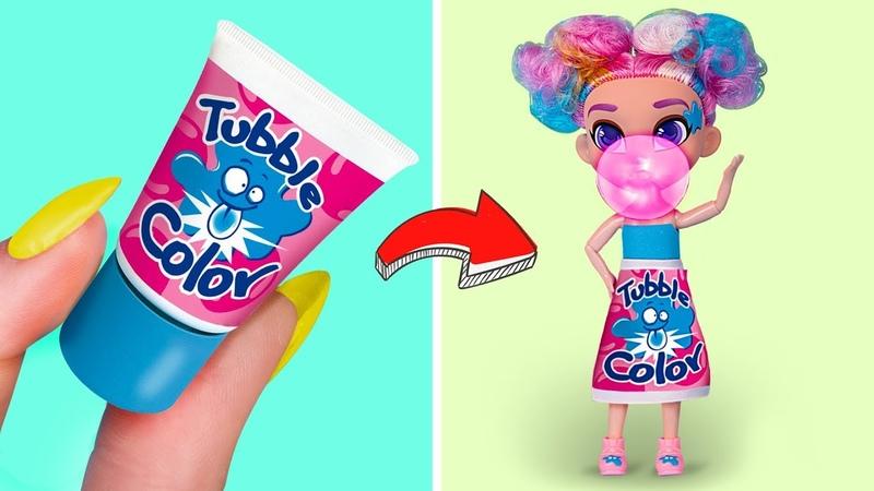 Куклы в стиле популярных сладостей 5 образов для кукол Барби