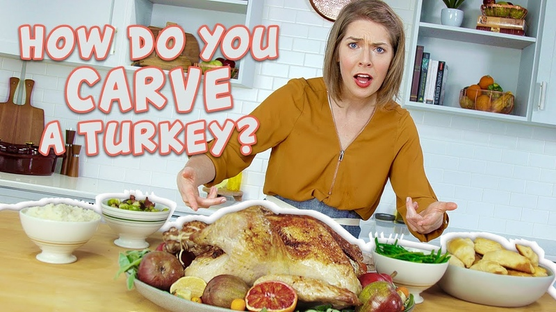 Turkey 101 Part 2 Easy Way to Carve a Turkey You Can Cook That