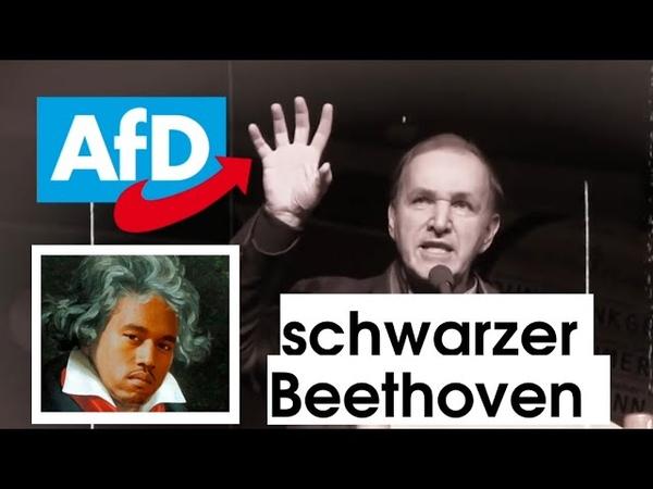 Ein schwarzer Beethoven Multikulti Wahn in Deutschland Großartige Rede von Curio