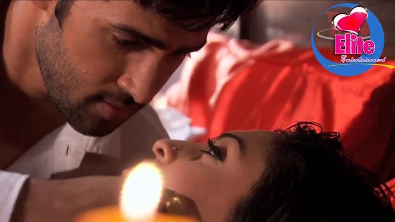 Sakshi and Karan aka Krystle D'Souza and Karan's HOT SCENE😍😘