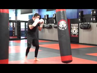 Kickboxing Classes All Ages - E13 Beginner Bag Training - Sensei Mike Trizano