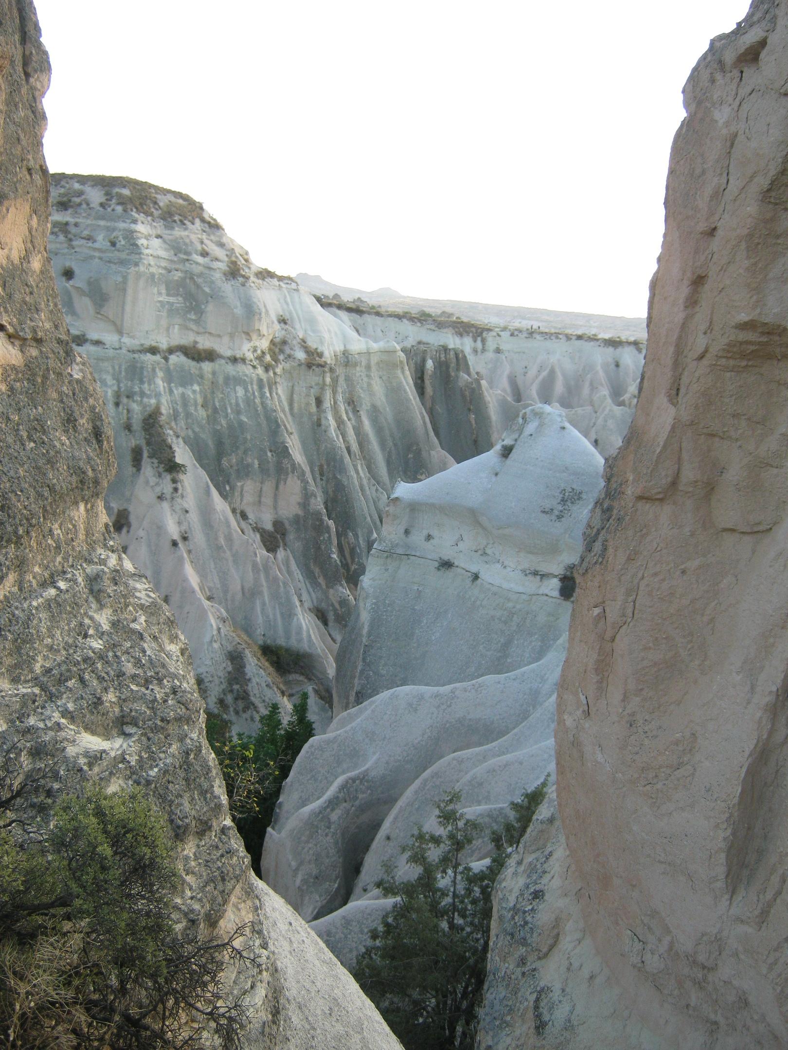 В каньоне между Гёреме и Ортахисар