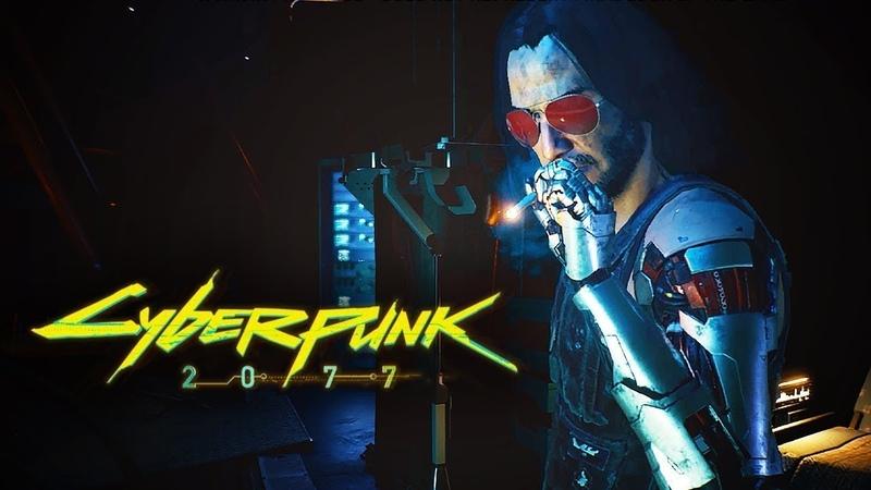 Cyberpunk 2077 Видео Игрового Процесса 2019 Глубокое Погружение