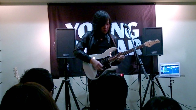 Jack Thammarat Laney Clinic at YOUNG GUITAR ,Tokyo, Japan(24)