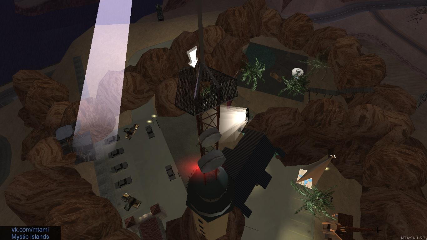 Мощный прожектор светлых всю ночь проверяет свою базу — ведь тьма не спит!